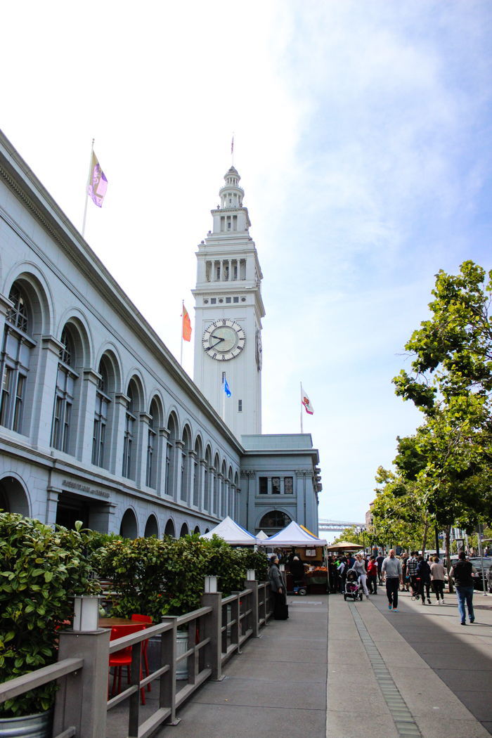 ferry plaza clock