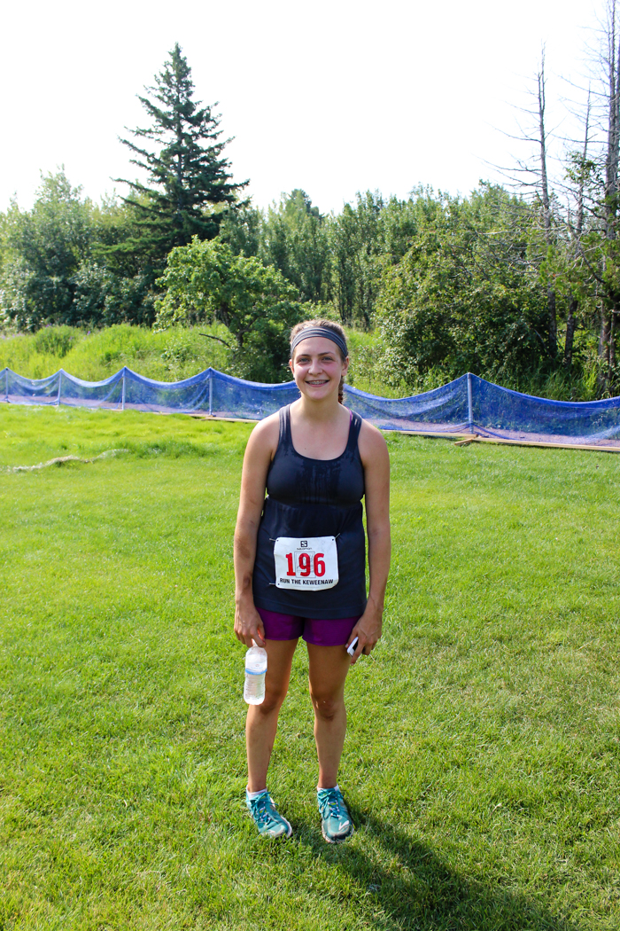 leigha finished copper harbor 25k