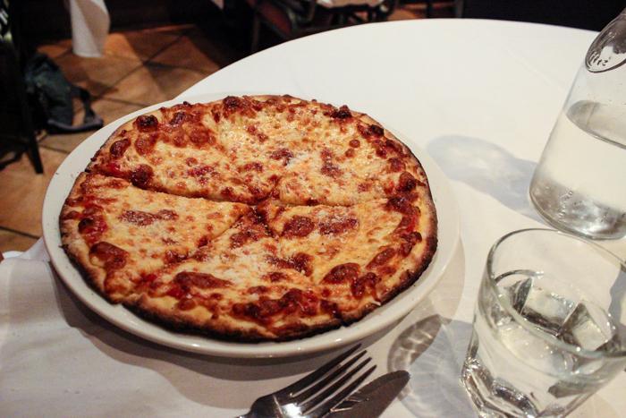 dinner pizza