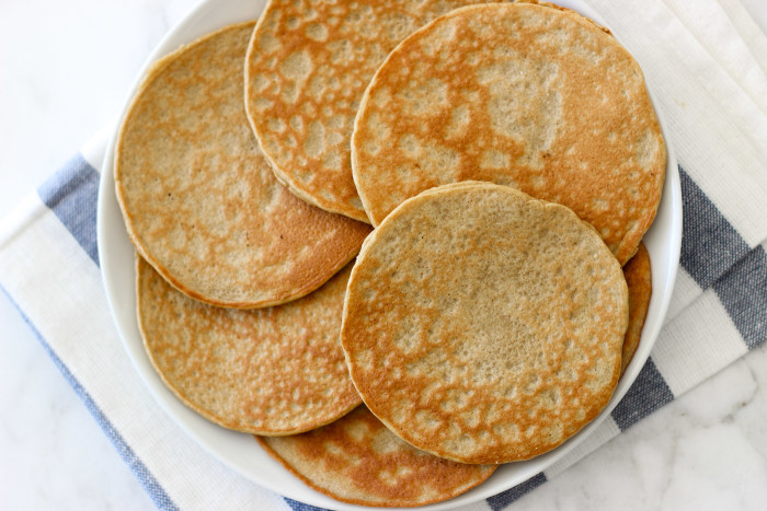 Gluten Free Coconut Flour Pancakes. Healthy and tasty!