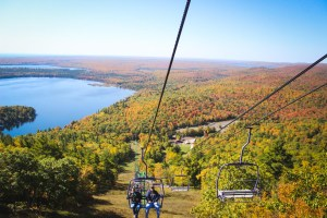 Mount Bohemia Color Tour