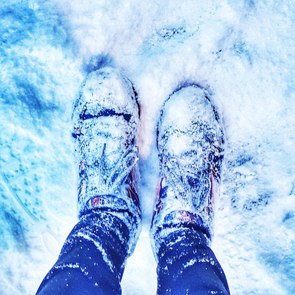 snow running trail shoes karrimor