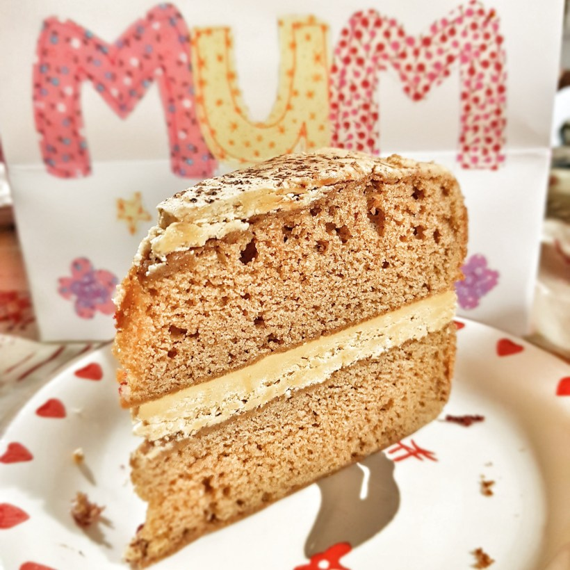 sponge cake mothers day