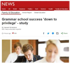 grammar schools bbc news