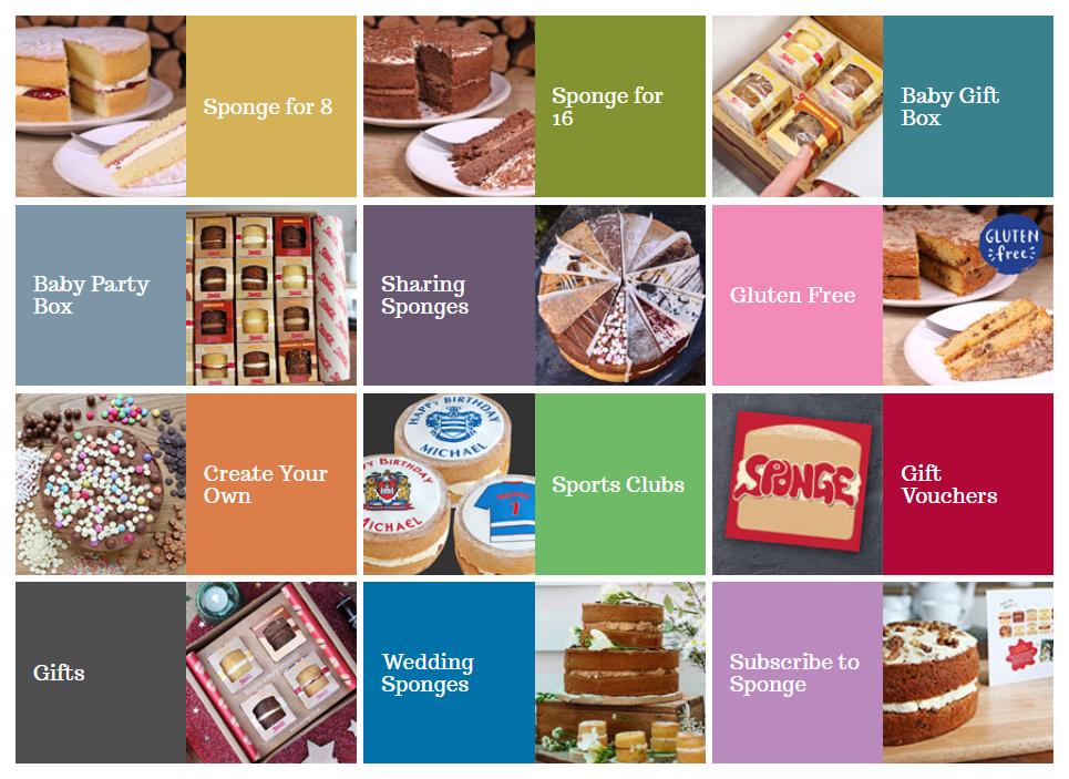 cake sponge choice