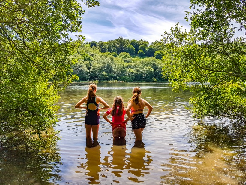 family adventure to Gormire lake