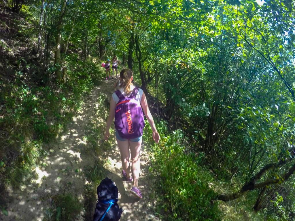 path to Gormire Lake