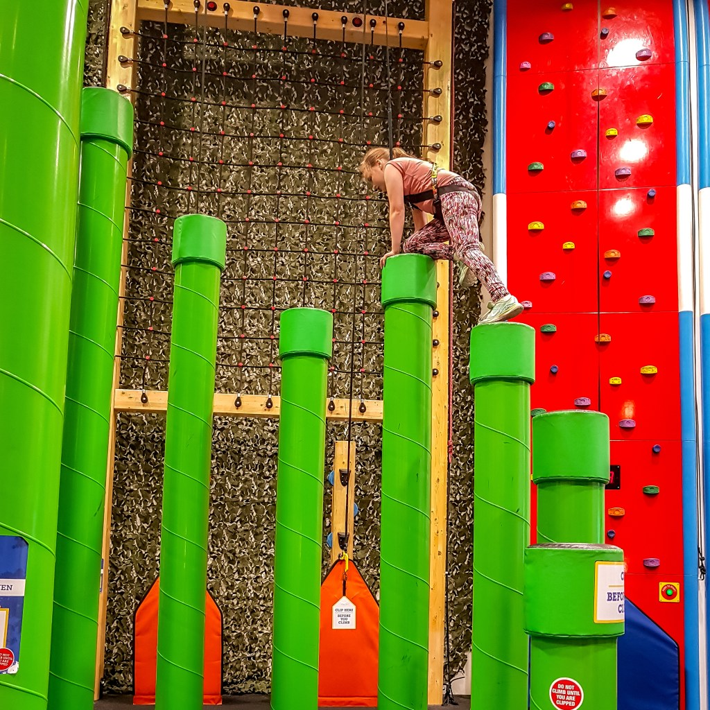 Rock Up Hull indoor rock climbing