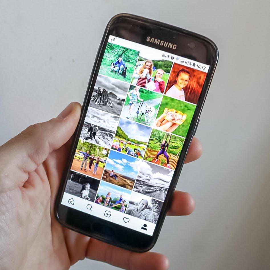 Instagram Samsung Galaxy S7