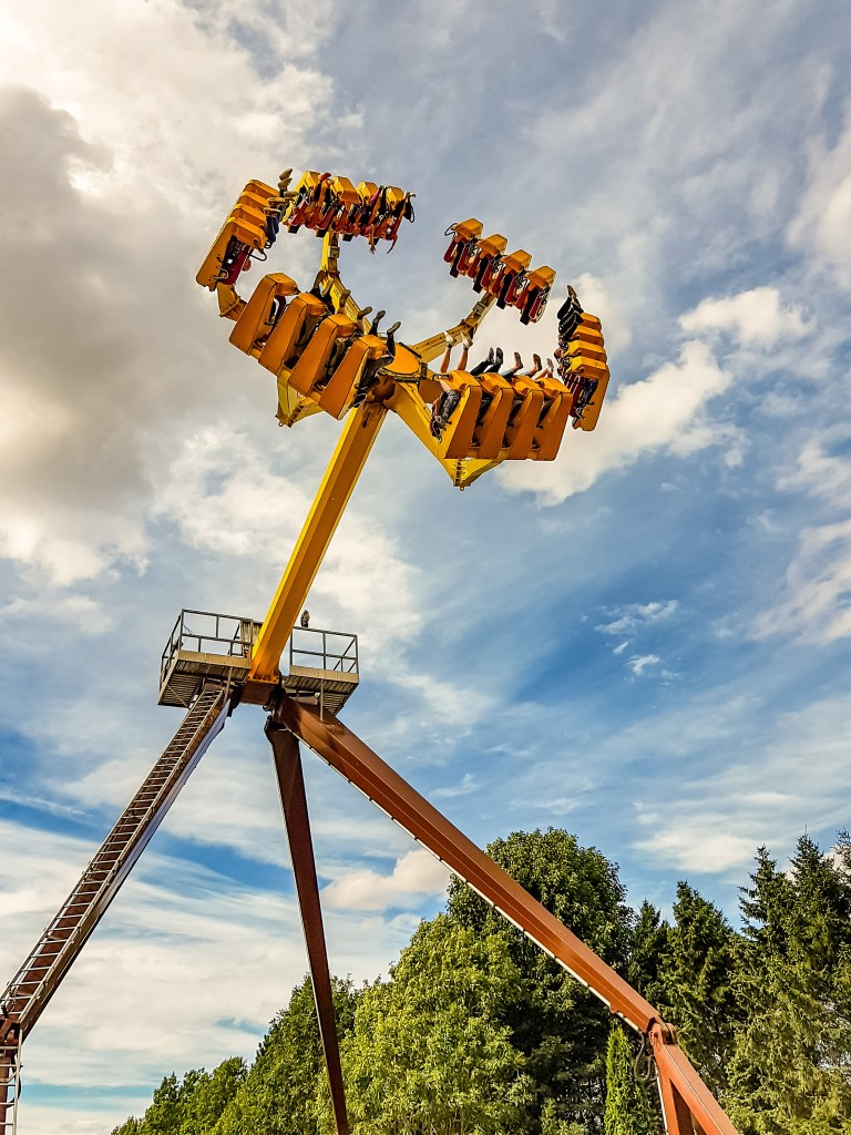 Lightwater Valley Theme Park the eagle's claw