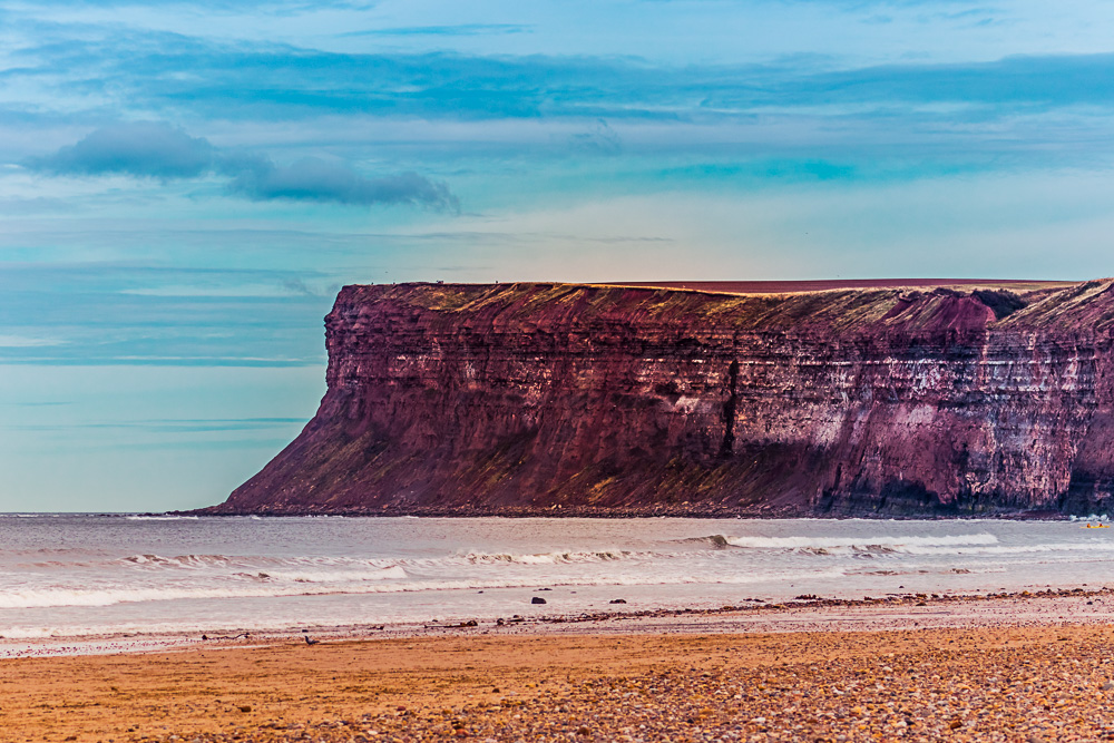 Saltburn-by-the-Sea cliff headland
