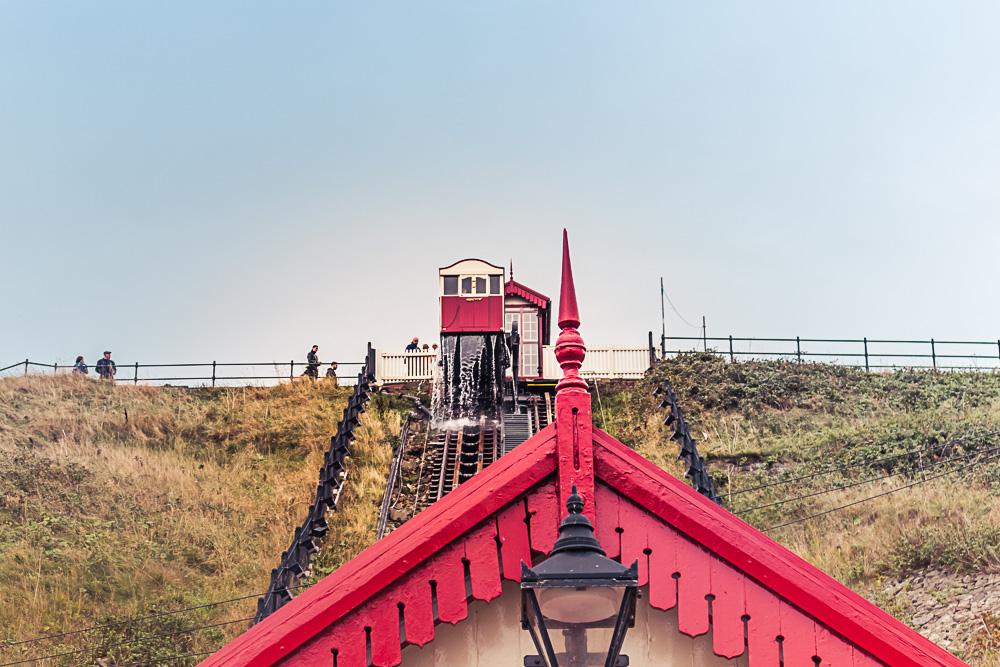 Saltburn-by-the-Sea water balanced cliff railway