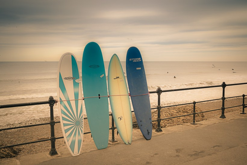 Saltburn-by-the-Sea surf boards