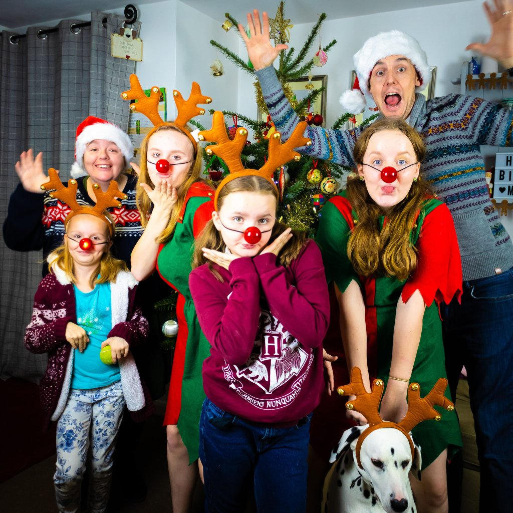 A Christmas Family Portrait | The Yorkshire Dad of 4