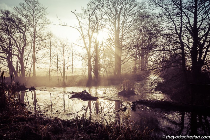 Mist on the Weir | My Sunday Photo | The Yorkshire Dad of 4