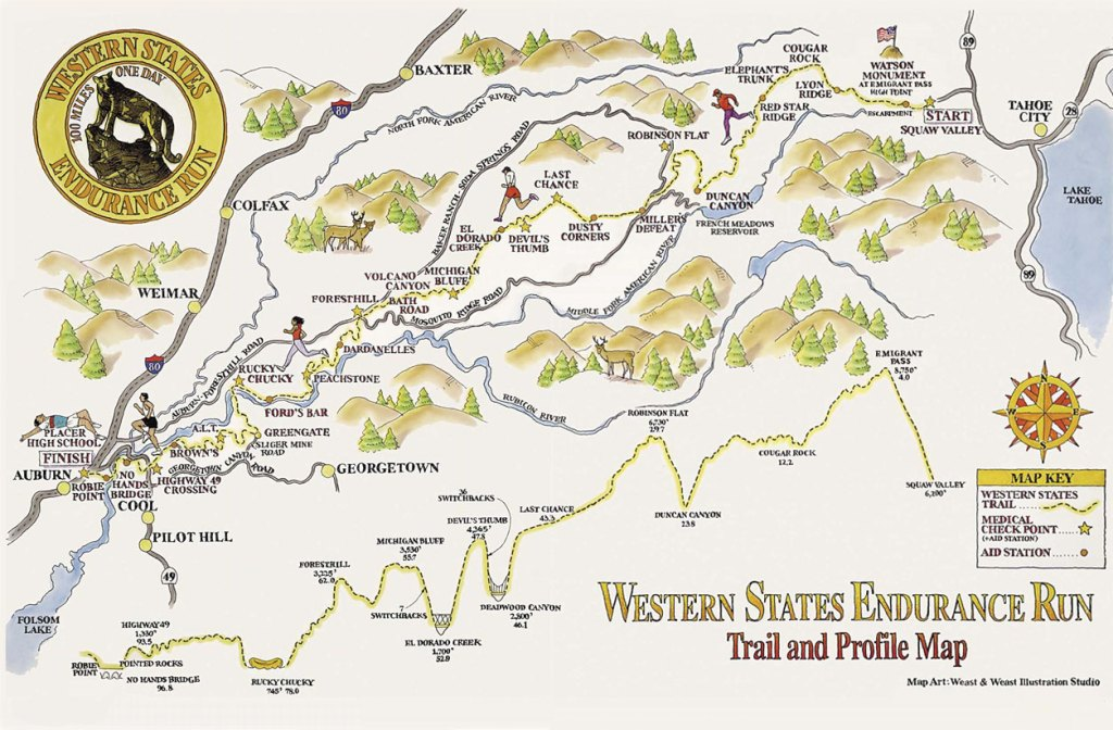 Running Race Bucket List | The Western States 100 | The Yorkshire Dad of 4