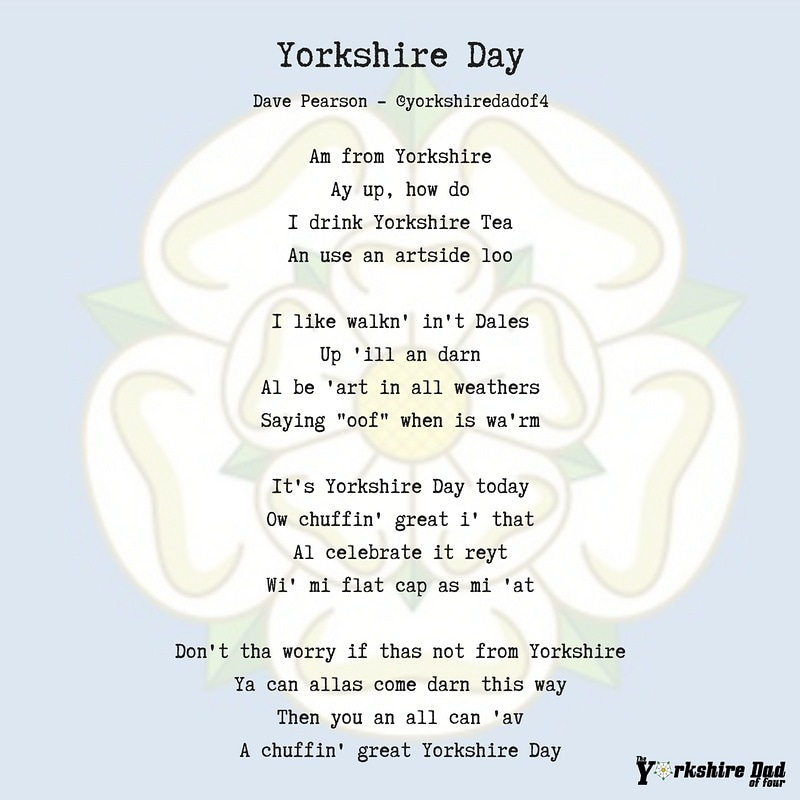 Yorkshire Day Poem | The Yorkshire Dad of 4