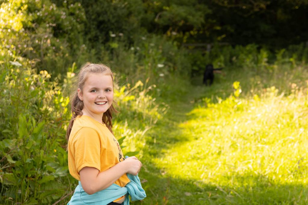 Young girls portrait | A New Lens Brings New Love For Photography | The Yorkshire Dad of 4