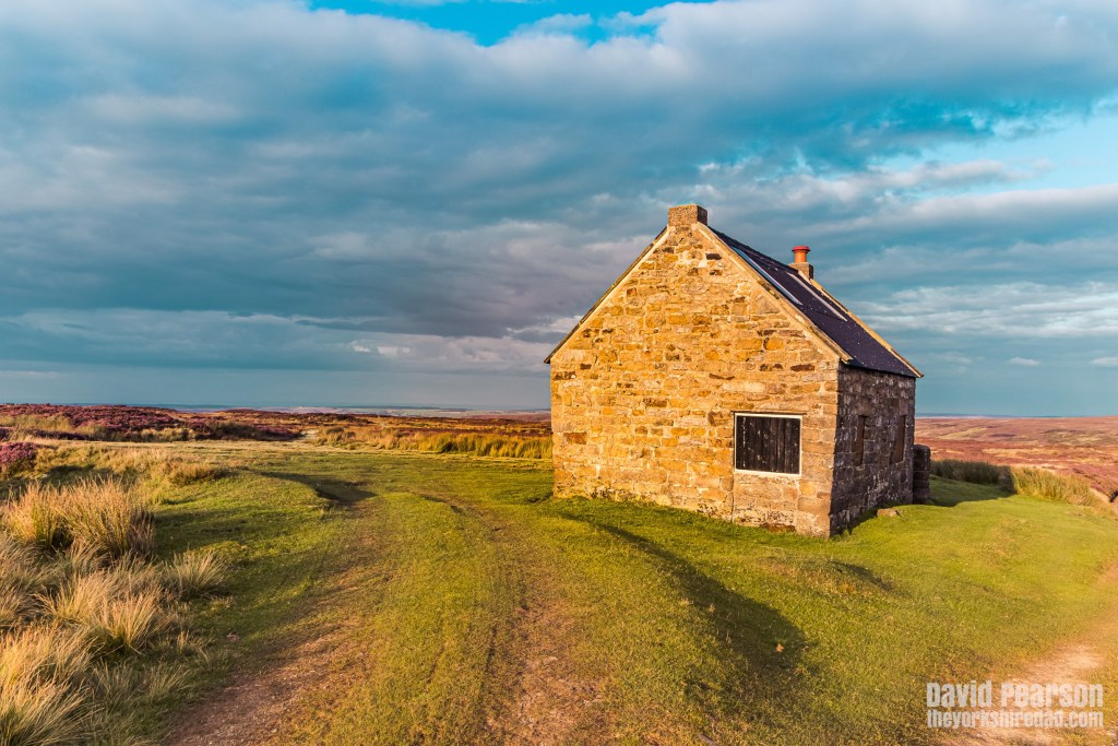 Trough House shooting lodge | Evening Walk on the North York Moors | The Yorkshire Dad of 4