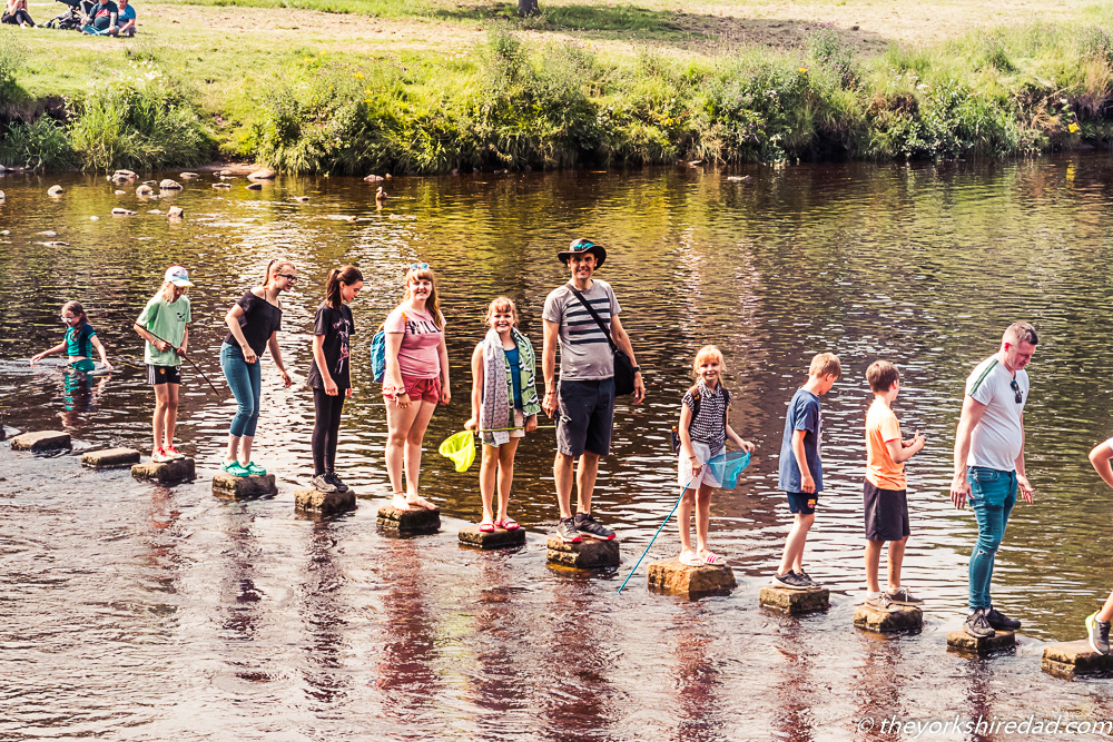 Stepping Stones at Bolton Abbey | The Yorkshire Dad of 4
