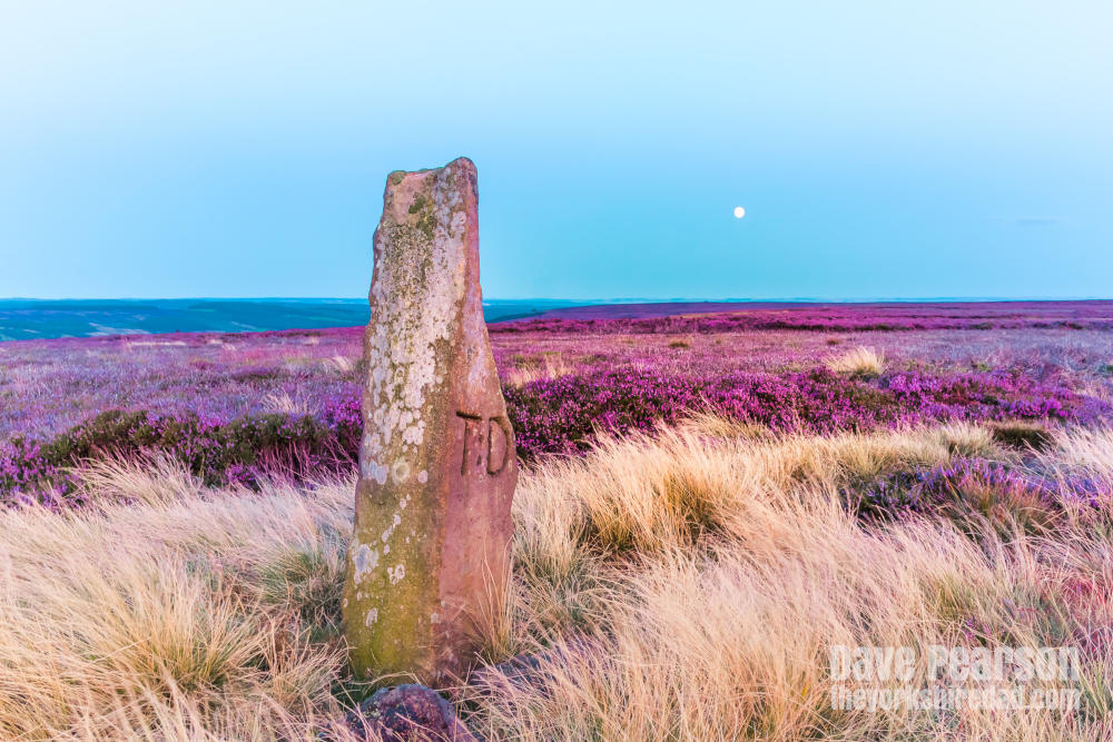 Ancient way marker on the North York Moors | The Yorkshire Dad of 4