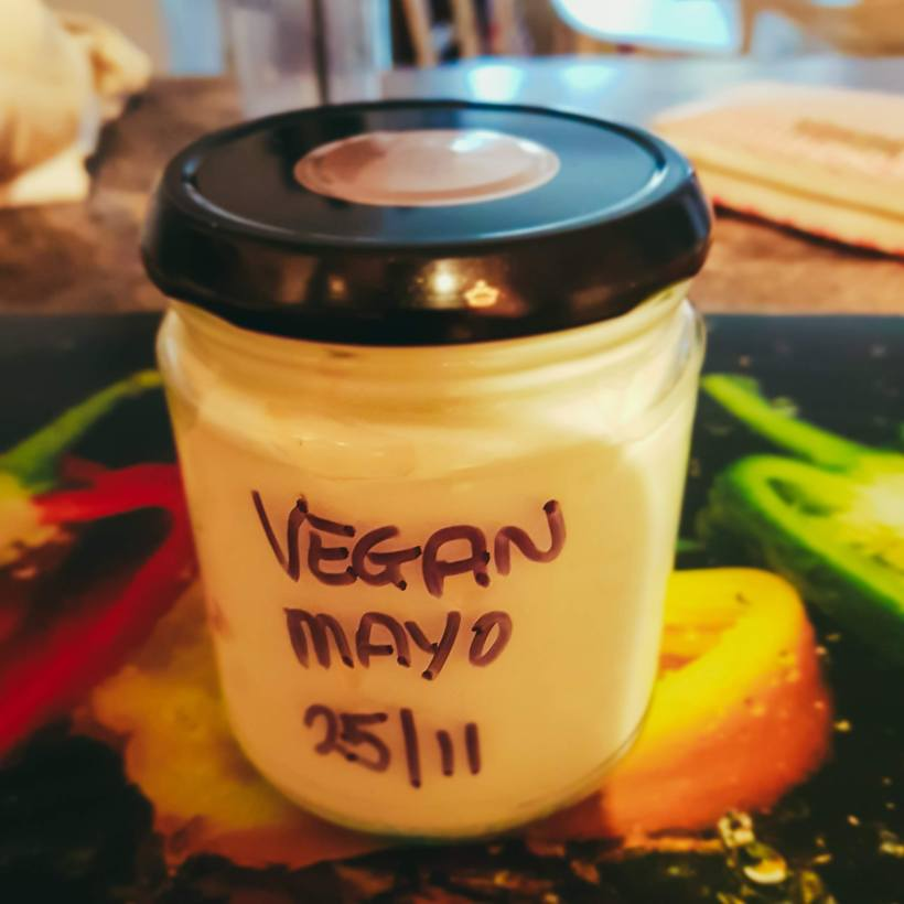 Simple Vegan Mayonnaise | The Yorkshire Dad of 4