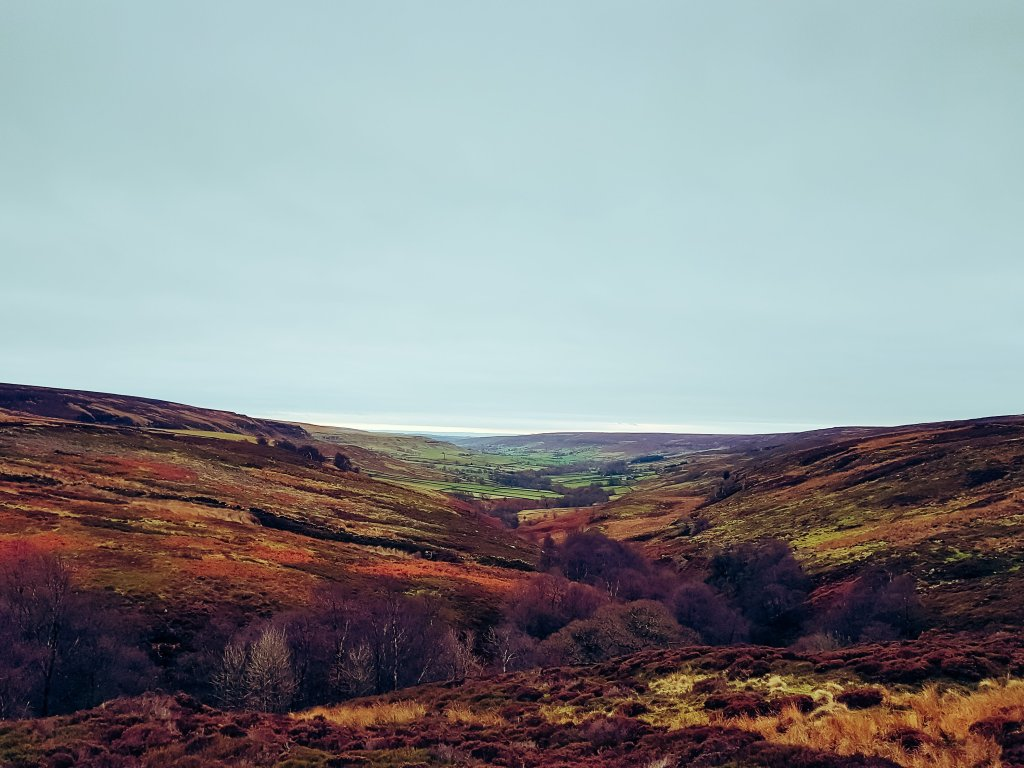 A view down Rosedale valley | The Yorkshire Dad of 4