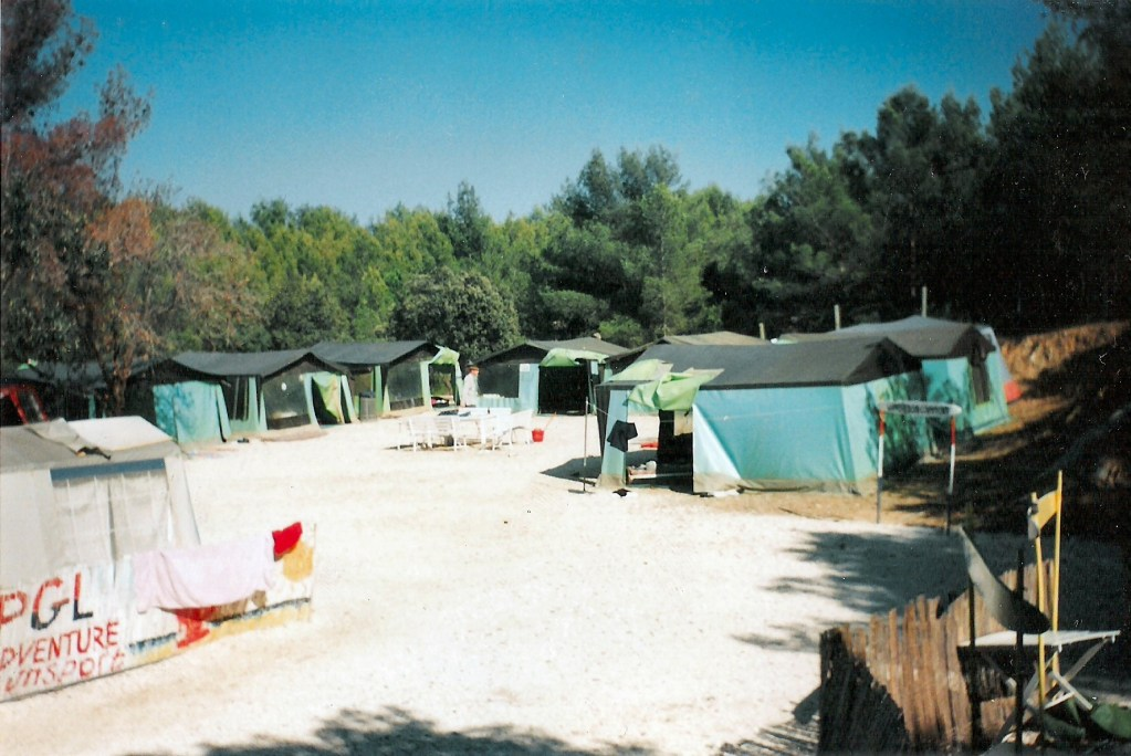 PGL camp site in Hyeres, South of France