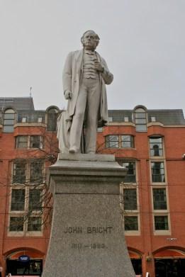 John Bright in Albert Square
