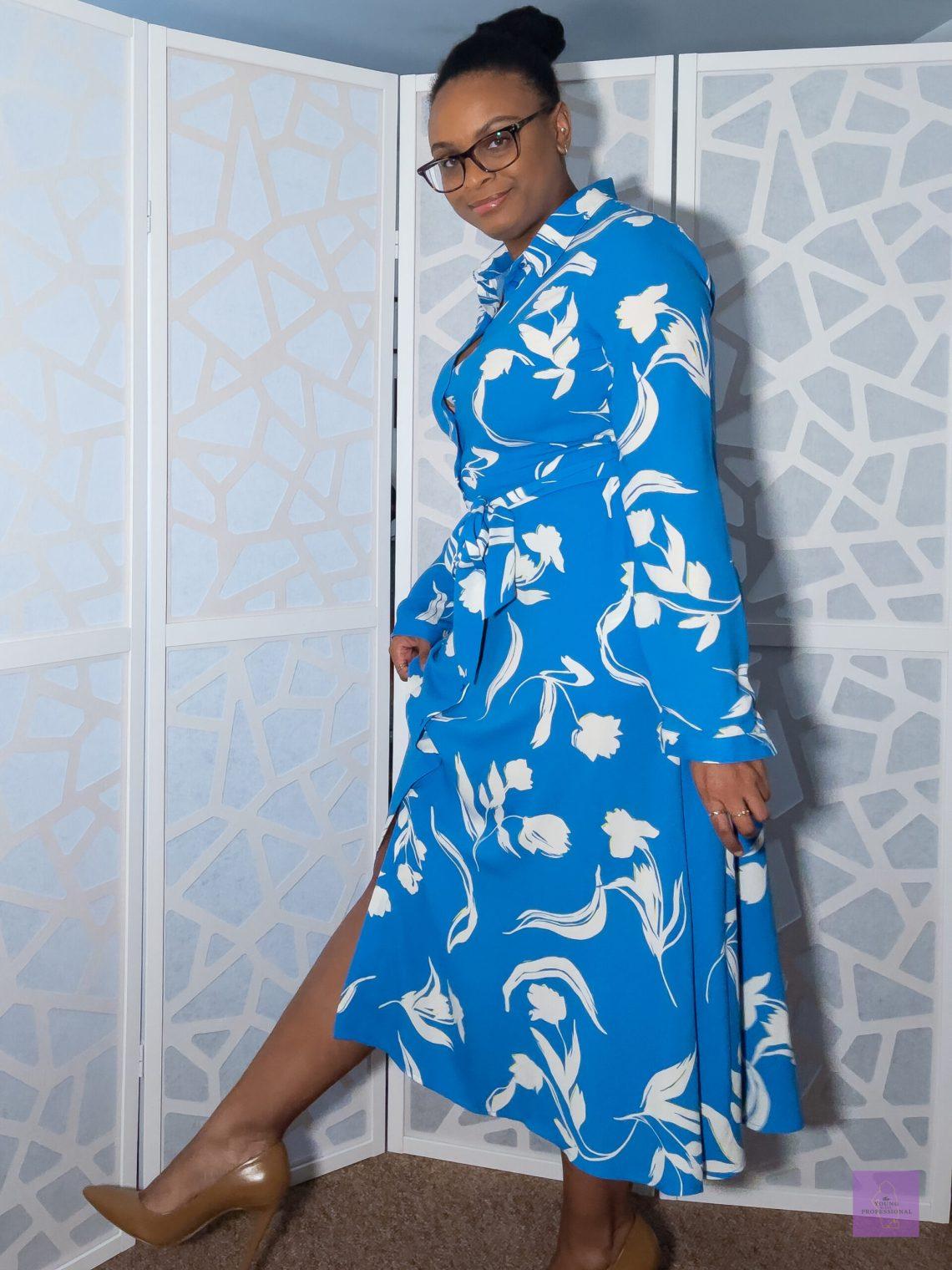 Colorful professional dress 1