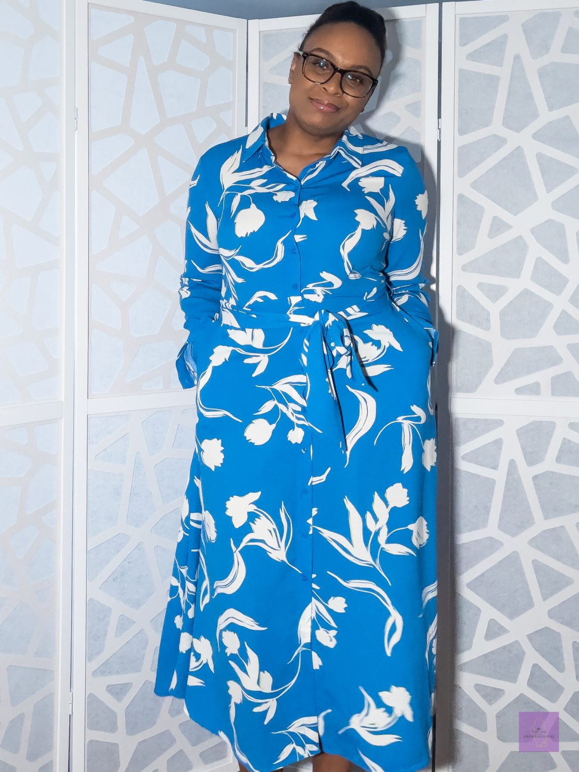 Colorful professional dress 3