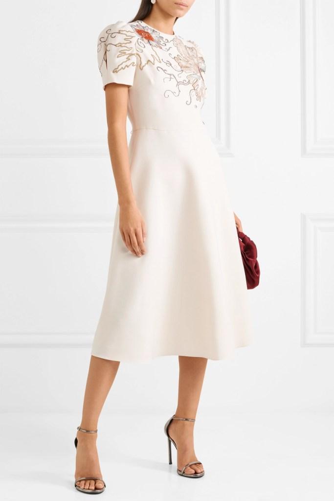 valentino white wedding dress fashion style bridal designer runway