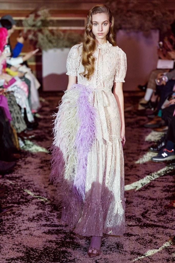 ryan lo fall 2019 fashion runway ready to wear love romantic style london fashion week