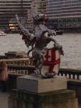 One of the Dragons that mark the London City boundary