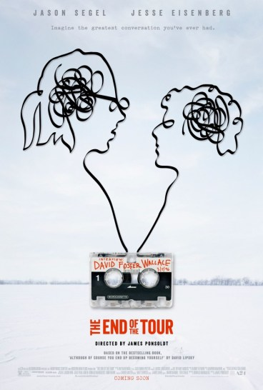 the end of tour poster
