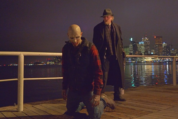 """THE STRAIN -- """"Fort Defiance"""" -- Episode 203 (Airs July 26, 10:00 pm e/p) Pictured: (right) David Bradley as Abraham Setrakian. CR: Michael Gibson/FX"""