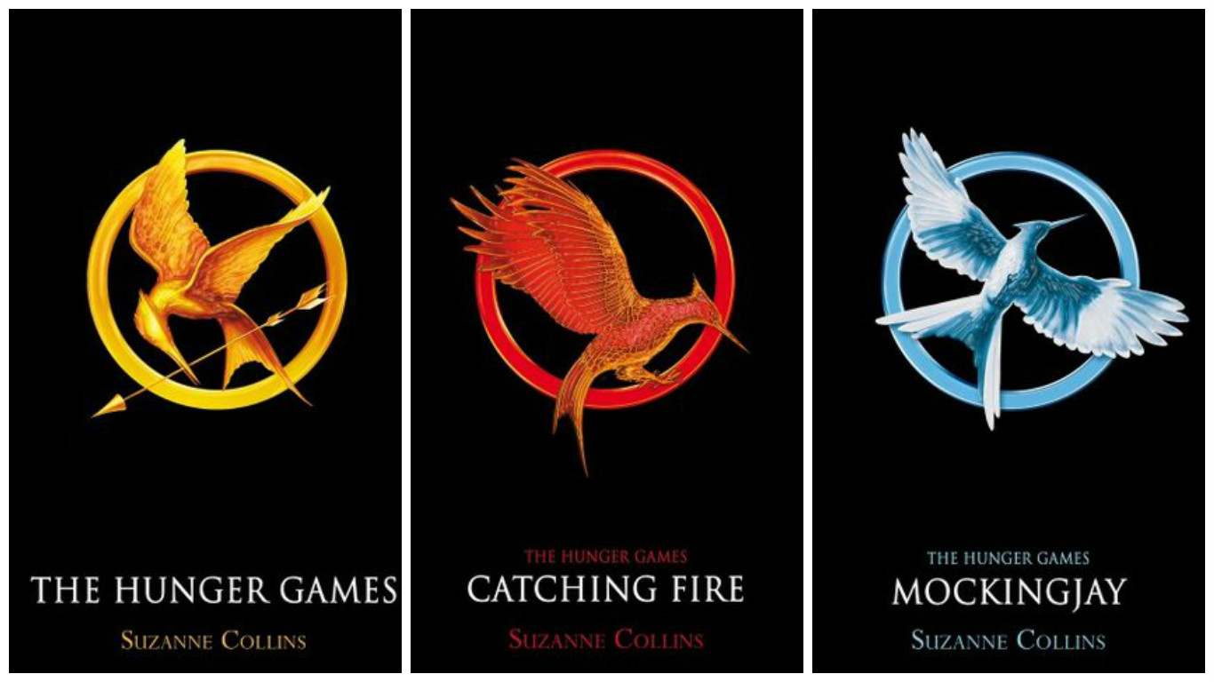 Image result for Suzanne Collins Hunger Games Series