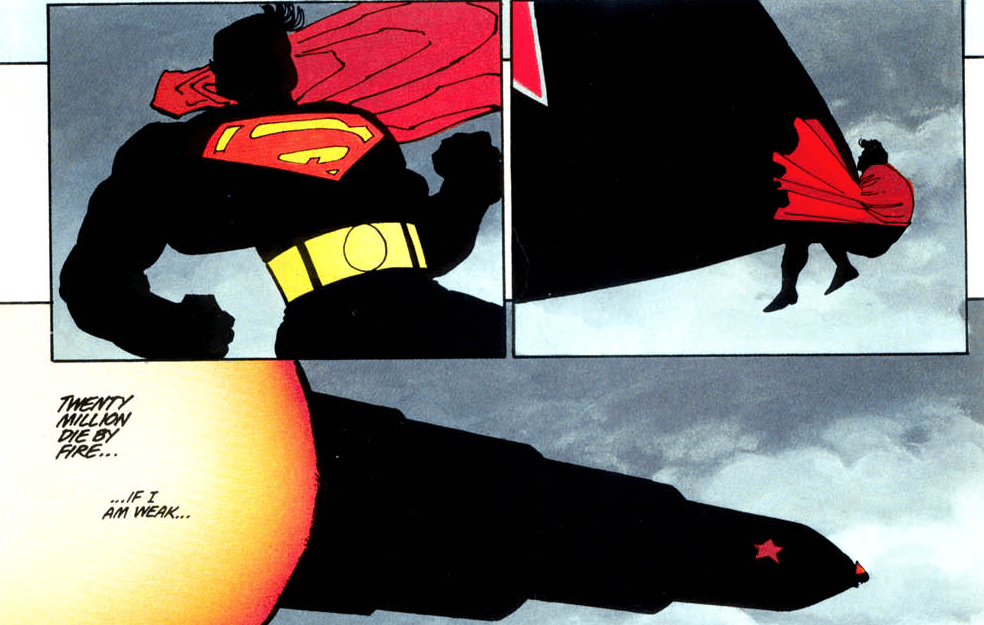 The Dark Knight Returns: Book Four, by Frank Miller (1986)