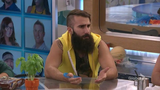 Big Brother 18 Paul Table
