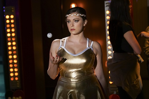 """Crazy Ex-Girlfriend -- """"When Will Josh Notice How Cool I Am?"""" -- Image Number: CEG202a_0445.jpg -- Pictured: Rachel Bloom as Rebecca -- Photo: Scott Everett White/The CW -- ©2016 The CW Network, LLC. All Rights Reserved."""