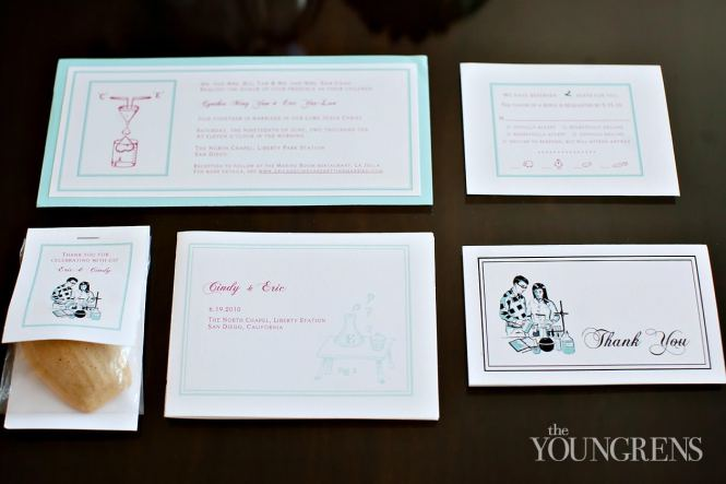 Science Themed Wedding Invitations