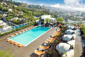 The rooftop pool where you'll want to spend a lot of time