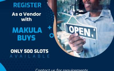 Register with Makula Buys and sell your products.
