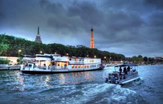 Dinner Cruise on the Seine.