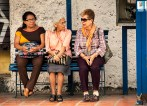 Ladies day on the bench.