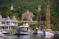 REligion and sailing, integral parts of life, in Maine.