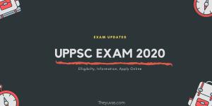 UPPSC Exam 2020