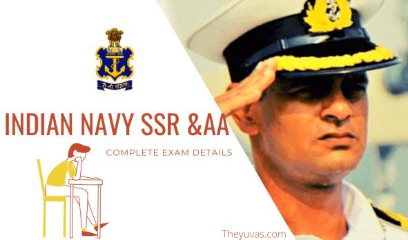 Navy SSR & AA Exam