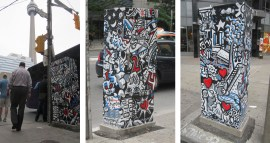 2014: Jive Obelisk, for StreetART's Outside the Box. Front St & Blue Jays Way