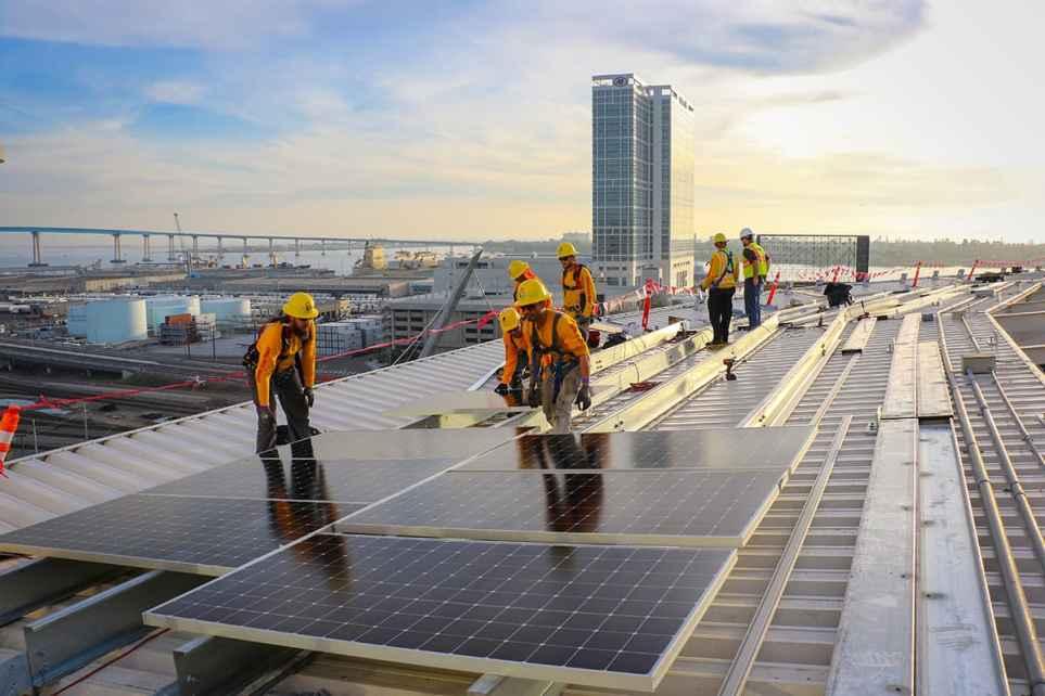 San Diego Padres Go Solar